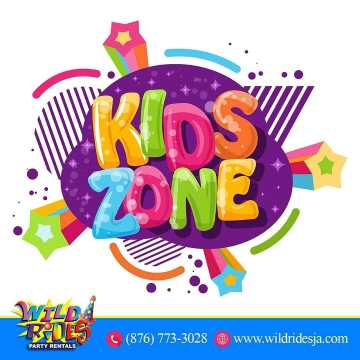 Step into the KidsZone this summer with Wild Rides Party