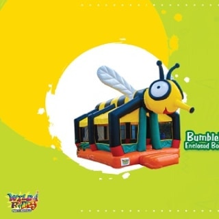 Bouncy House Bumble Bee is a popular bounce house for kids or adults, and lt's u