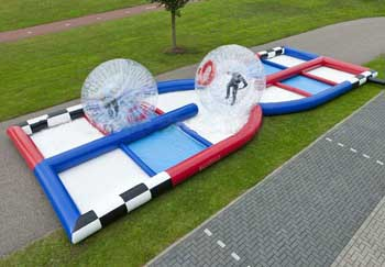 Zorb Ball w/Inflatable Track
