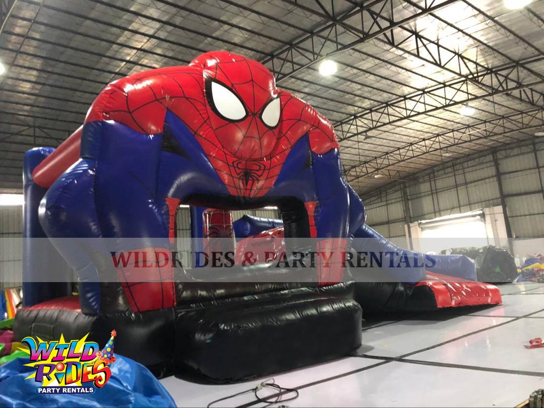 Spiderman Supreme Bouncer w/Dry Slide