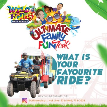 Count down the days to #ufftjamaica, what is your favorite ride to be feature