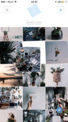aplikacje do planowania siatki zdjęć na Instagramie