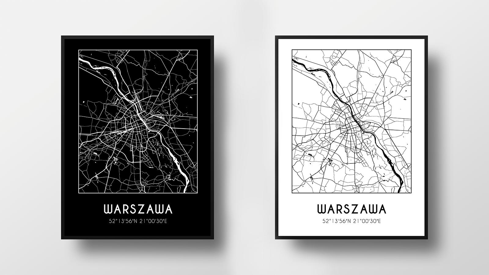 Darmowe Plakaty Z Mapami Miast Do Pobrania Polska Blog Wild
