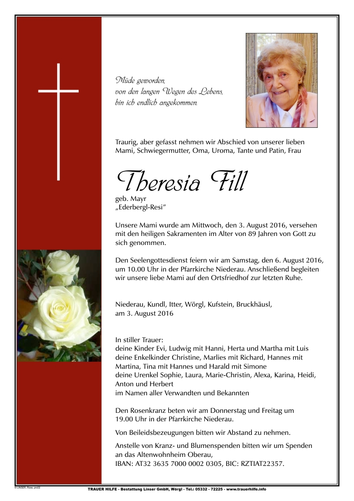 Theresia Fill