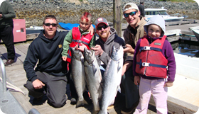 Big Brothers Big Sisters with Alaska Premier Charters, Inc. / Wild Strawberry Lodge