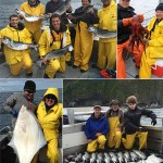 5-30-2016 Successful fishing plus a Pacific Octopus and a beautiful releaser halibut