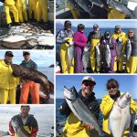 6-18-2016 Some perfect eater kings and halibut and a released ling