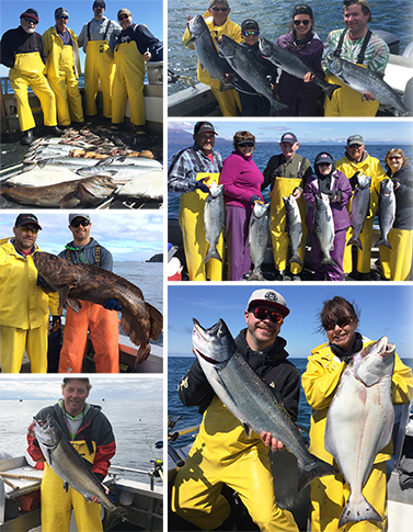 6 18 2016 Some perfect eater kings and halibut and a released ling