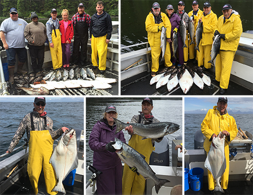 7 2 2016 Another day in Sitka with Kings and flatties