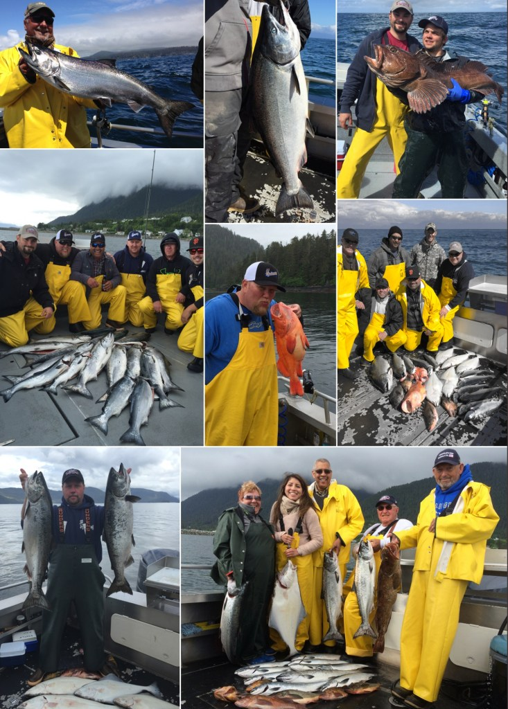 6 26 2015 Keepers and a Releaser Lingcod in Sitka AK