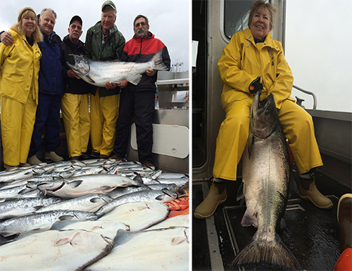 7 23 2015 Betsey is APCs angler of the year with a 62 lb