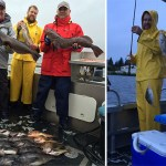 9-9-2016 Live bait gets you spunky lingcod on a stormy day