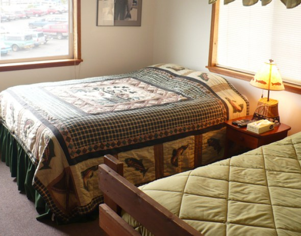 A Bedroom at the Wild Strawberry Lodge