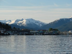 A Nice View Of The Sitka Harbor System in Alaska