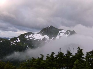 Clouds Covering Mountain