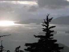 Foggy Day Over Sitka, AK