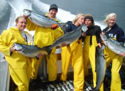 King Salmon Limit For The Blondies