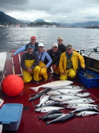 Sitka 2005 Fishing Crew