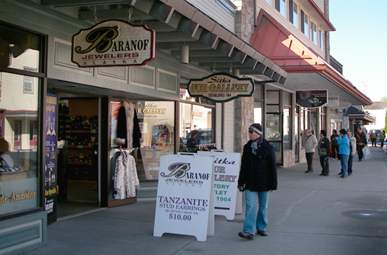 Tourist Shops in Sitka, AK