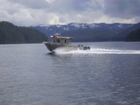 One of the New Boats Cruising