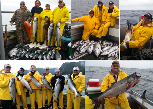 7 26 2014 Successful King and Silver salmon fishing