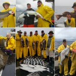 08-25-2017 Keepers and releaser halibut and blue shark!