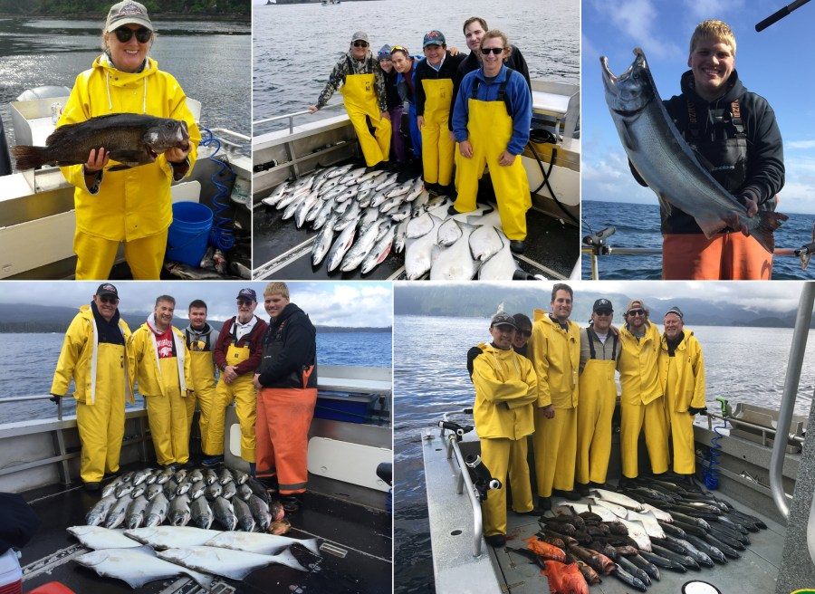 Better weather produced lots of fish and a 15 lb. coho!