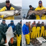 06-16-2018 Relaser halibut, releaser lings, and a big king tops the day!