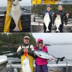 6-11-2019 A King and a Halibut make a great pair!