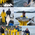 6-15-21 Happy with our catches and a releaser halibut!