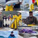6-17-21 Petting a releaser Halibut and beautiful Kings!