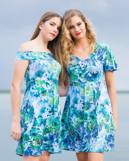 Ellipse Dress and Butterfly Dress in Fairyland