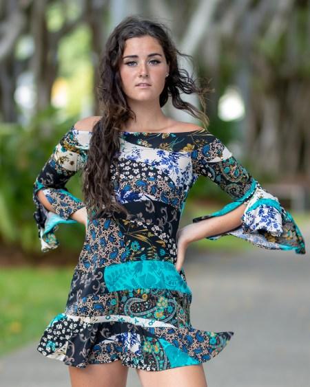 La Vita e Bella Dress in Gypsy Blue