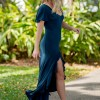 Return to Innocence Dress in Dark Teal