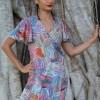 Free Spirit Wrap Dress in Messina