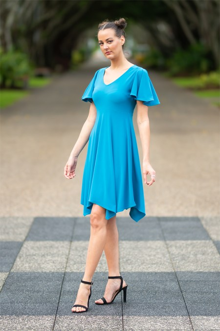 Australis Empress Dress in Sapphire