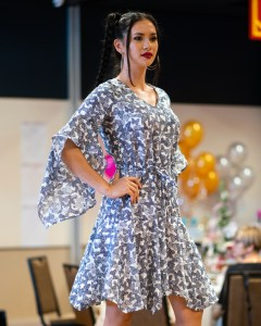 Schatzi Dress in Butterfly Cotton Voile