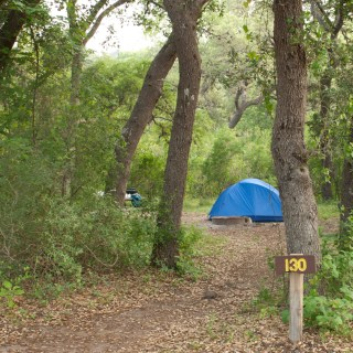 Our West Verde Creek Campsite (#130). Copyright © Shannon D. Moore. See more photos at OutdoorPhoto.com