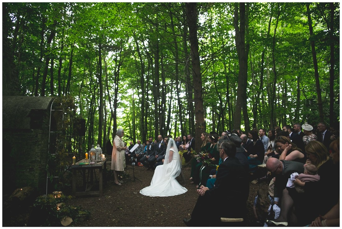 Killyon Manor Woodland Wedding