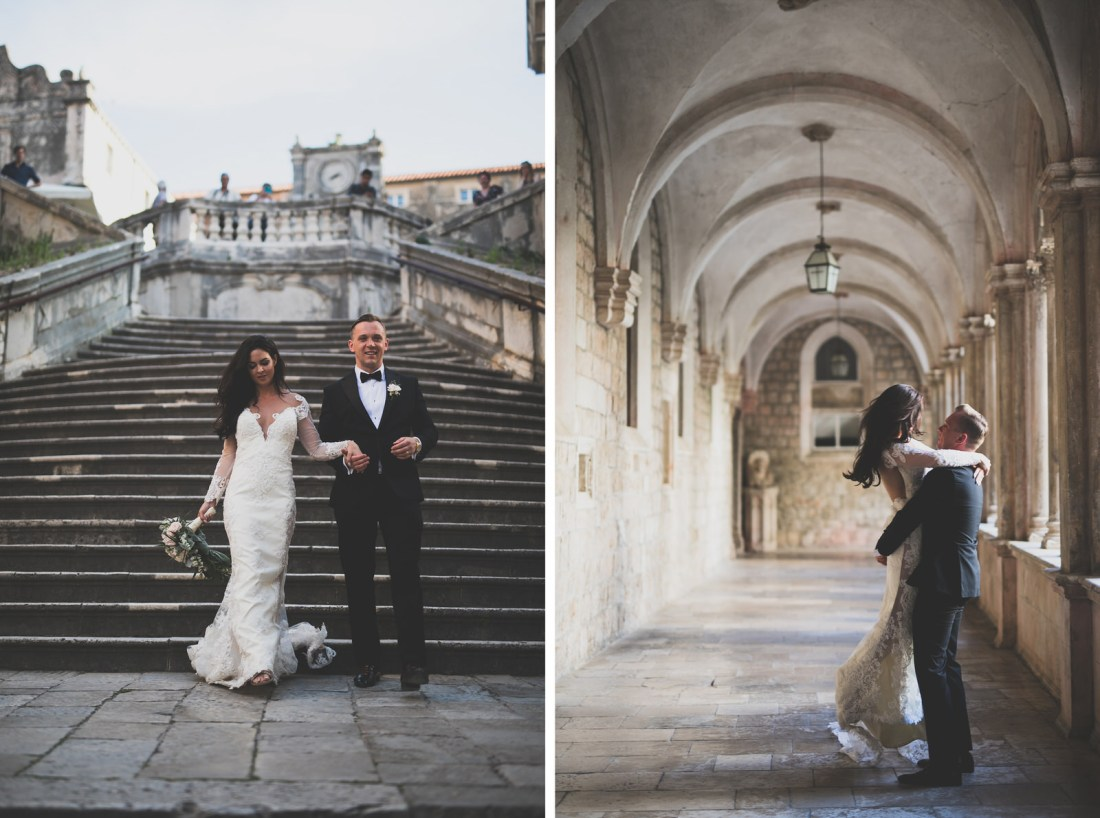 Destination wedding photographer - Dubrovnik Old town