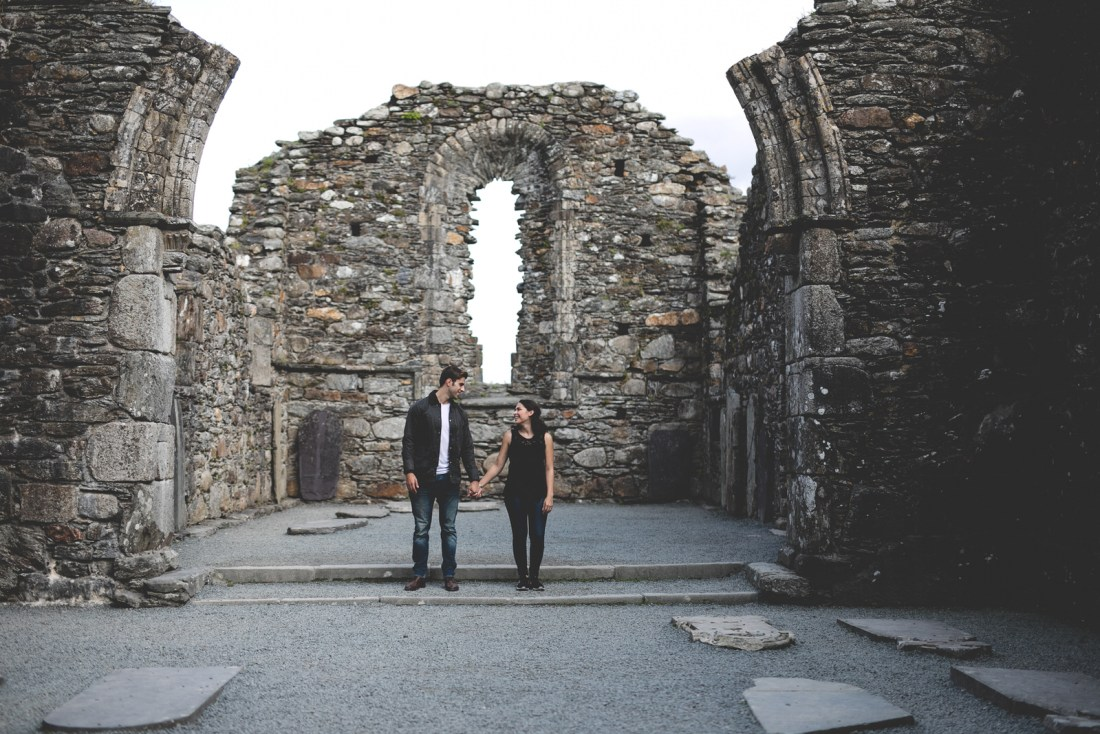 Glendalough Engagement shoot