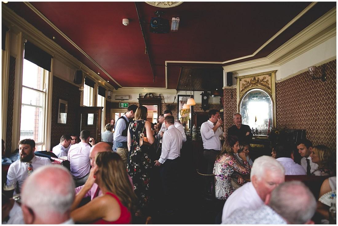 Stag's head wedding reception
