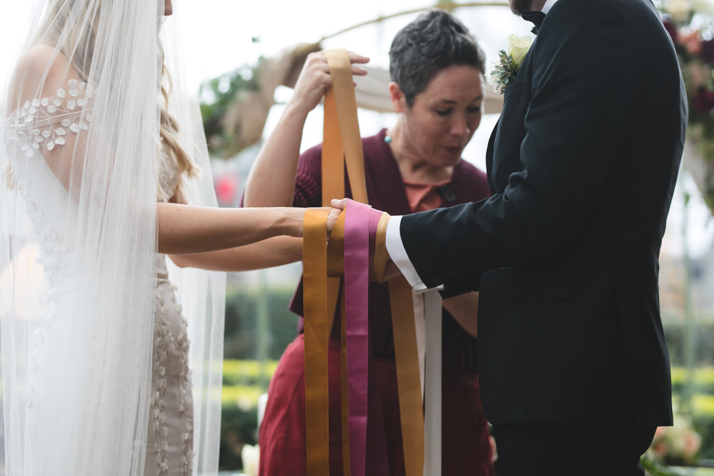 Celtic humanist hand fasting wedding tradition