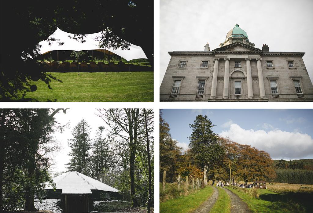 Wedding Ceremony locations at Rock Farm, Lisnavagh House, Kippure Estate & the Law Society