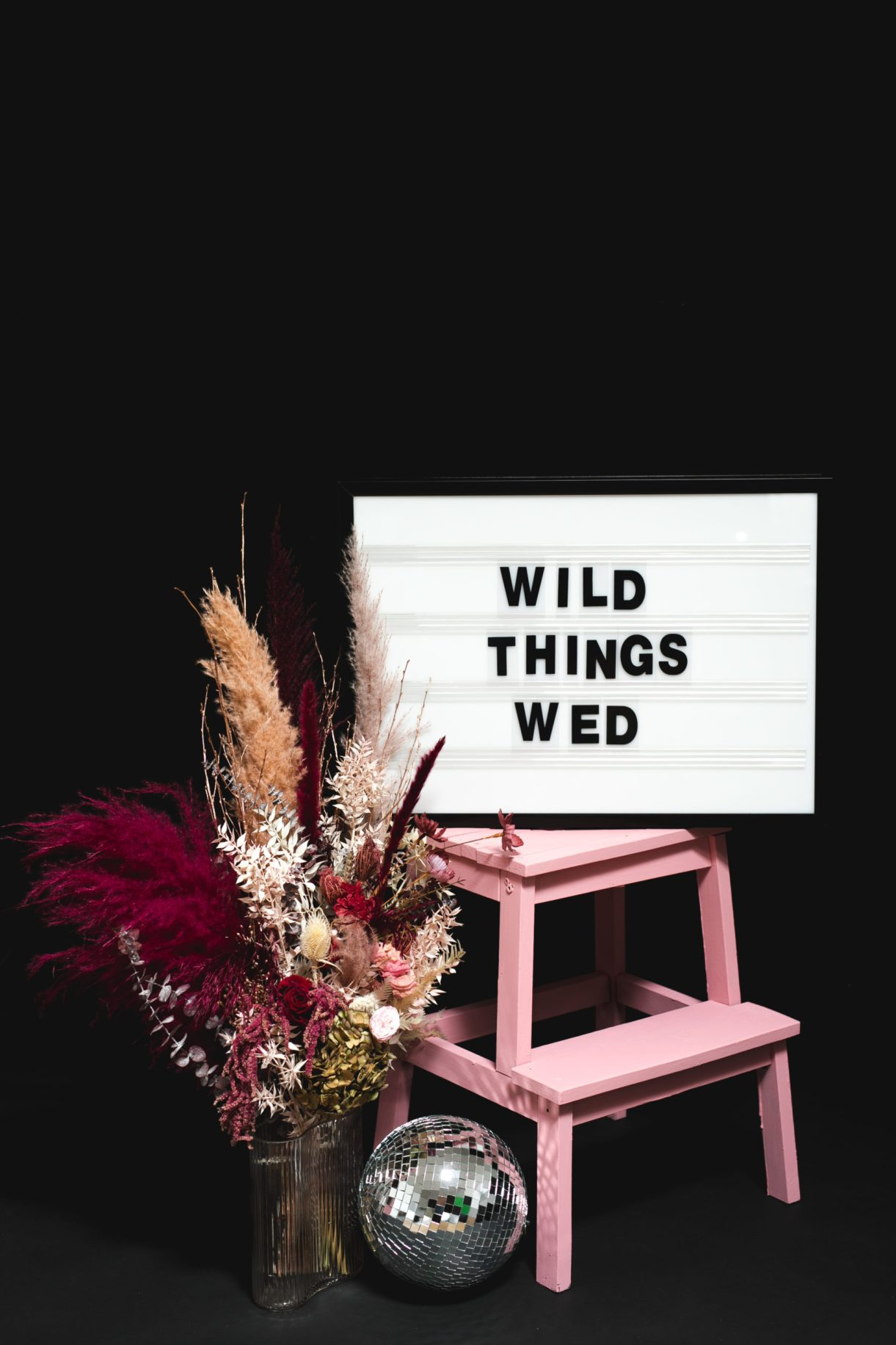 Wild Thing Wed venue styling rentals