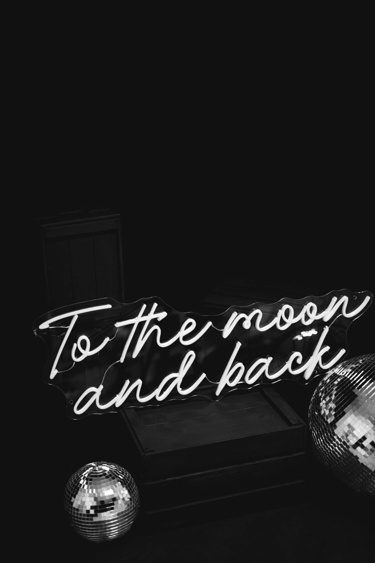 To The Moon & Back Neon