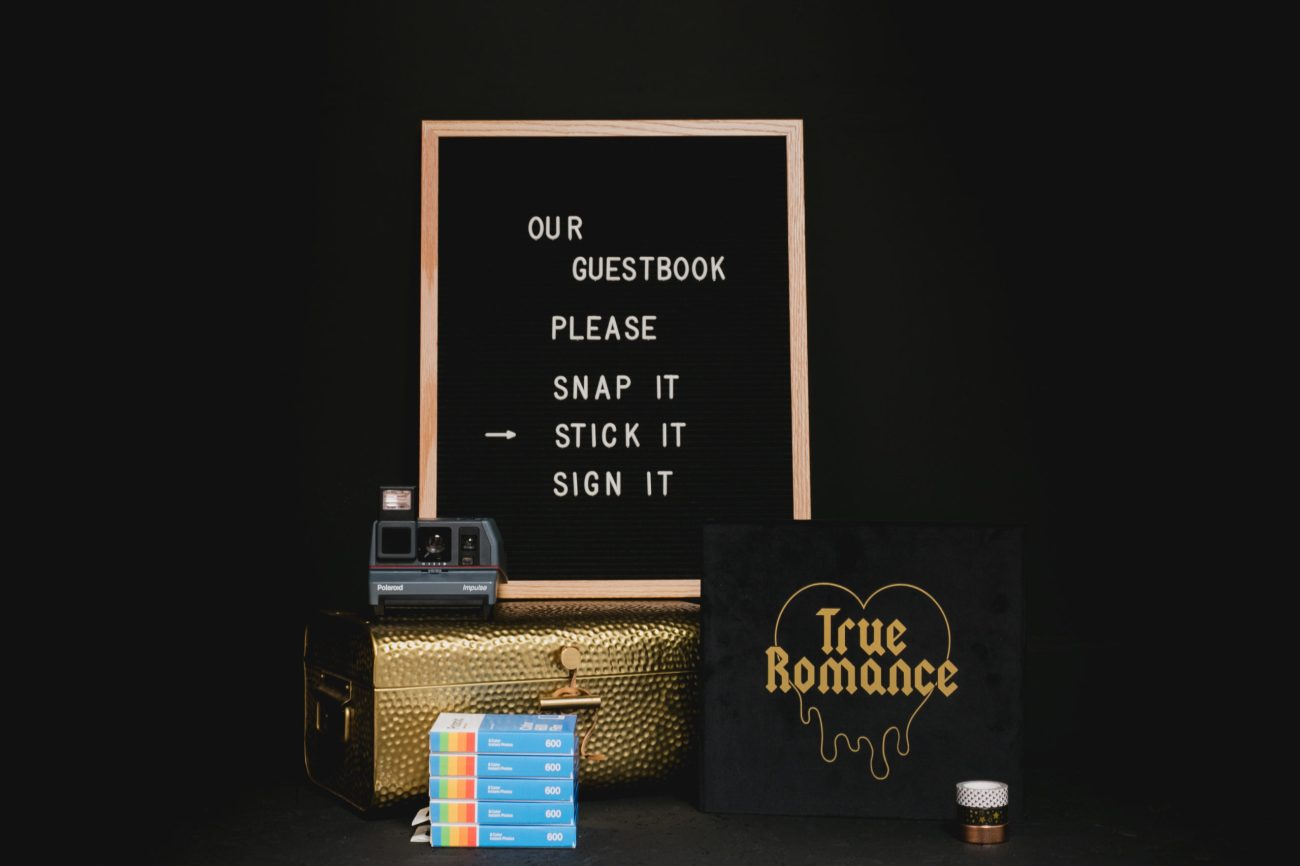 Luxury Polaroid Wedding Guestbook bundle Ireland