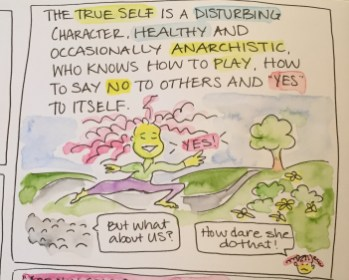 10 - true self says yes to itself