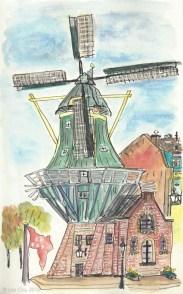 Molen de Adriaan (windmill), Haarlem