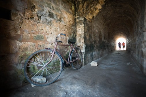 tunnels Jaffna Fort